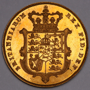 1825 George IV Sovereign FDC Uncirculated Grade