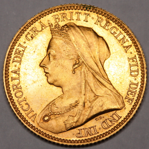 1893 Victoria Old Head Half Sovereign Uncirculated Grade