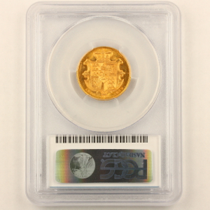 1832 William IV Sovereign Uncirculated Grade. PCGS  Mint State 63+