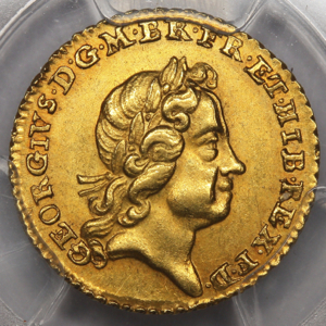 1718 George I Quarter Guinea Uncirculated Grade. PCGS - MS64