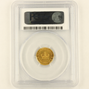1800 George III Third Guinea Uncirculated Grade. PCGS - MS63