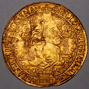 1560-1 Elizabeth I Sovereign Good Very Fine Grade