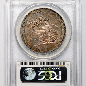 1820 George III Crown PCGS - MS64