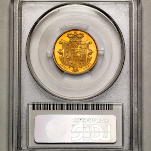 1830 William IV Proof Sovereign PCGS - PR62 DCAM