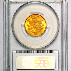 1832 William IV Sovereign Choice uncirculated grade. PCGS - MS63+