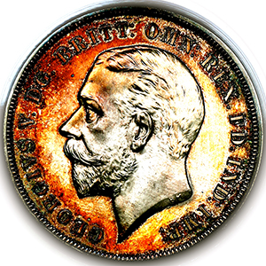 1935 George V Crown Practically FDC. PCGS - PR65 CAM