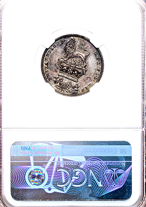 1825 George IV Proof Shilling NGC - PF62