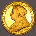 1893 Victoria Proof Two 2 Pounds Double Sovereign