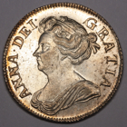 1708 QUEEN ANNE SHILLING COIN