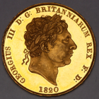 1820 GEORGE III PROOF TWO POUNDS