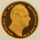 1830 KING WILLIAM IV PROOF GOLD SOVEREIGN COIN