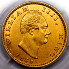 1835 WILLIAM IV EAST INDIA COMPANY ONE MOHUR