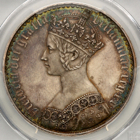 1847 QUEEN VICTORIA PROOF GOTHIC CROWN