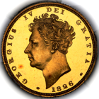 1826 George IV Proof Sovereign