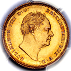 1835 King William IV Half Sovereign