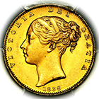 1838 Queen Victoria Sovereign